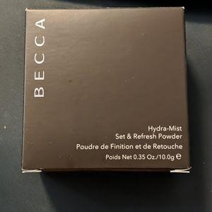 Becca Hydra Mist Set and Refresh Powder